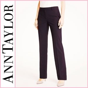 Ann Taylor Stretch Brown Margo Trouser Pants